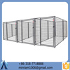 2015 New design fashionable durable and anti-rust high quality low price wrought iron large outdoor dog kennels