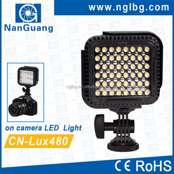 CN-LUX480 On camera LED video light camcorder light for Nikon Canon