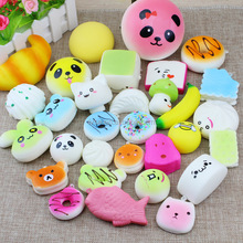 Customized Soft Cute Animal/Fruit Slow Rising Squishy Stress Toys