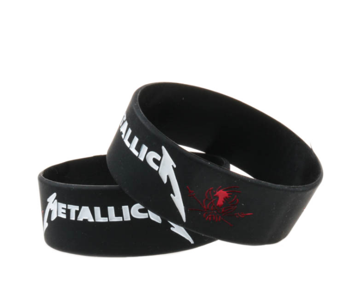 25PCS/Lot Heavy Metal Music Band Three Days Grace Silicone Wristband 1 Inch Bracelet