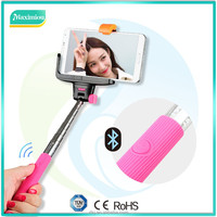 hot new products for 2014 smart , selfie stick bluetooth shutter remote
