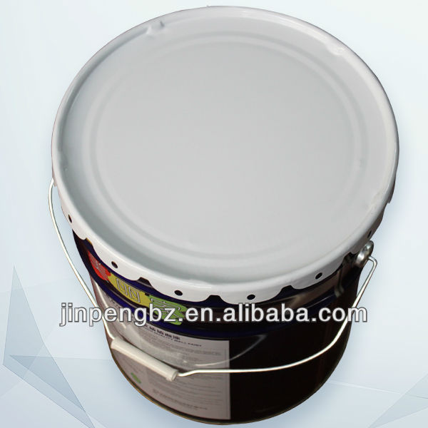 printed painting round paint pail