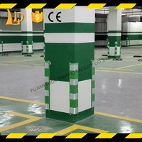 Super flexible wall bumper guards for Parking Garages & Warehouses