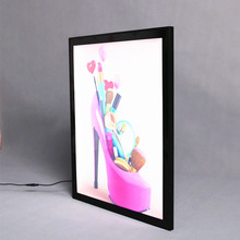 A0 A1 A2 A3 A4 Custom Aluminum Snap Poster Frame light box