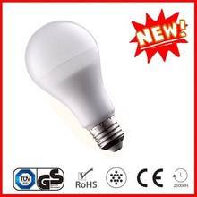 A60 8w Ultrasonic welding plastic and aluminum LED bulb light E27