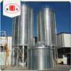 5t -2000t hopper bottom wheat steel silos exporting for feed mill selling on competive price