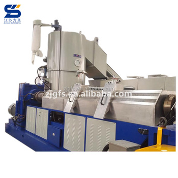 Double screws two stages granule pelletized recycle plastic pellet grinding extruder machine pelletizer plastic