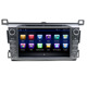 Touchscreen 8 core car dvd gps android 8.1 for Toyota rav4 2013 2014 2015 navigation car multimedia system