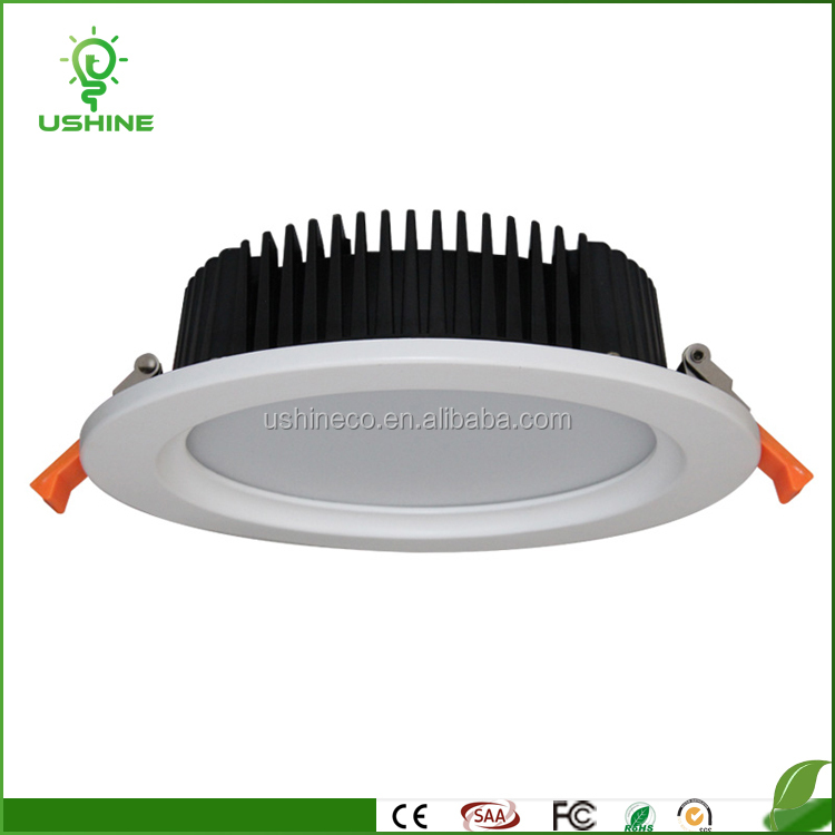 2017 new led light downlight 7w 12w 18w 24w slim led downlights indoor ip44 recessed dimmable round 7w slim led light downlight