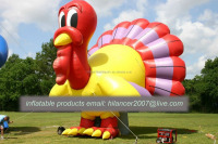 giant inflatable advertising turkey cartoon for sale
