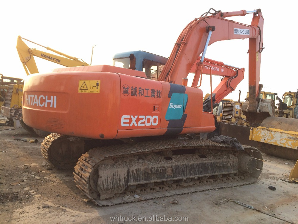 Hitachi EX200 Used Crawler Excavator for sale