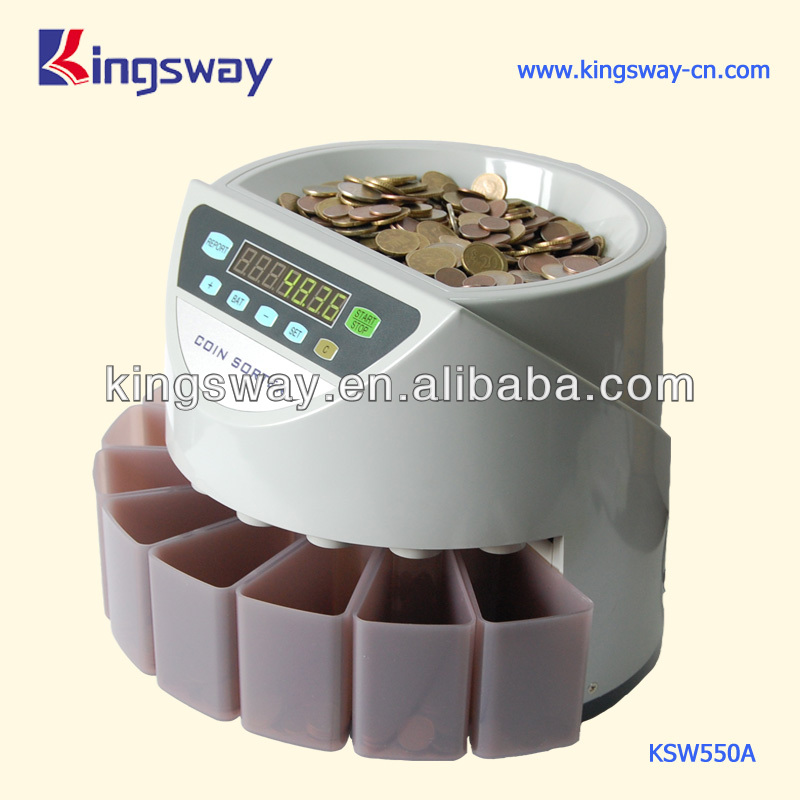Portable Coin Sorter Machine (KSW550A)
