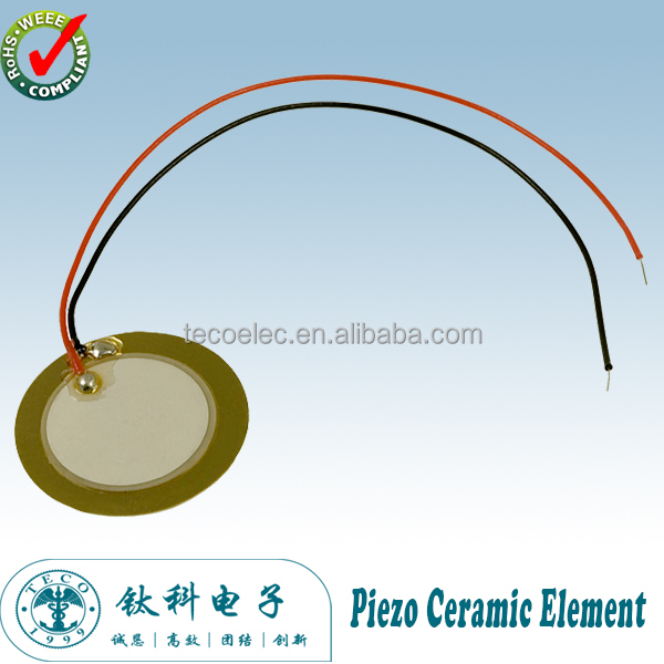 External-Driven Piezo Ceramic Element