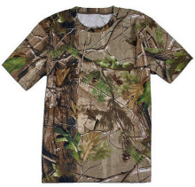 Hunting Camouflage T shirt Breathable Camo short sleeve Hunting T shirt