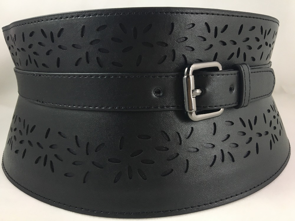 5 inches wide western style fashion waist belt for women