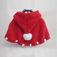 Hot! New Baby Kid Wraps Shawl Cape Cloak Crochet Sweater Knit Hats Winter Warm Caps (free size)