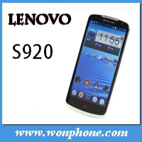 Lenovo S920 MTK6589 Quad Core Mobile Phone 5.3 inch Android 4.2 720*1280 touch Screen 1GB/4GB