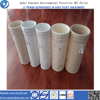 Low price dust filter bags for asphat plants
