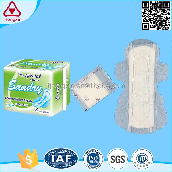 Hot sale thickness sanitary napkin women pads hygenic towel for Africa market