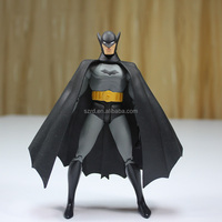 delicate movable anime batman articulated toys/oem action figure/high quality action figure