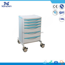 Hospital Utility Anaesthesia Medcine trolley (YX-MT6604)