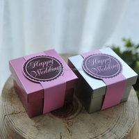 Latest discount laser cut wedding favor box candy boxes