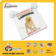 Beware Of Dog Sign labrador Dog Warning hanging door Signs
