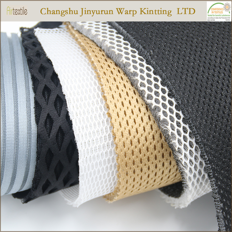 AR17 Breathable 3d car seat covers spacer mesh fabric material
