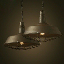 cheap vintage Industrial iron pendant lamp IP08 C rustic