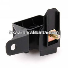 black zinc plated steel stamping parts,positive terminal base