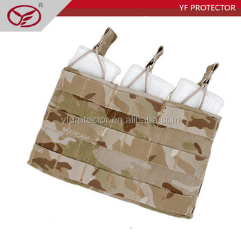 Military Tactical MOLLE webbing straps Magazine Pouch