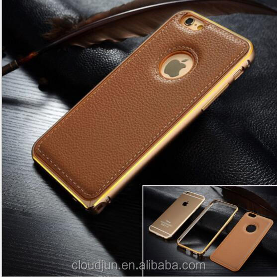 Wholesale Luxury Leather For Iphone 5s Case, For iPhone 6s Leather Cover Case, Back Covers For iPhone 6 Plus