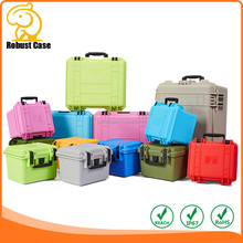 Waterproof Hard Plastic Tool Case with foam for Guns, Go Pro Hero, Cameras, Audio, Video, Electronics etc