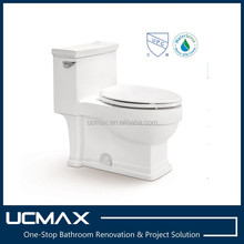 UPC Contemporary Design One Piece WC Toilet