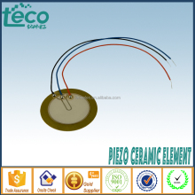 Ningbo TECO Brass/Steel/Nickel Piezoelectric Ceramic Piezo Element