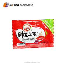 Wholesale plastic chilli sauce sachet