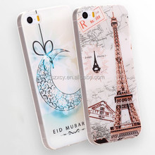 bulk product 3D custom print soft silicone tpu shell mobile phone case cover for iPhone 4 5 5s 6 6s plus