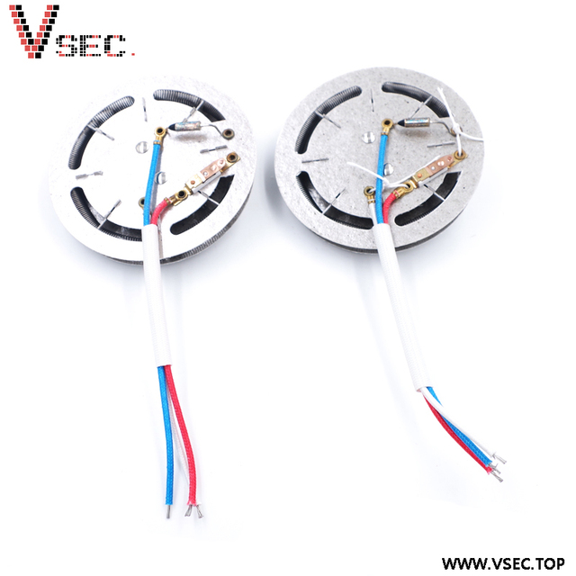 China Alibaba Supplier Electric Heating Element Round Mica Frame Heater 220V for Popcorn Maker