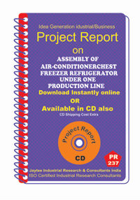 Project Report On Assembly Of Air-Conditioner Chest Freezer Refrigerator Under One Production Line