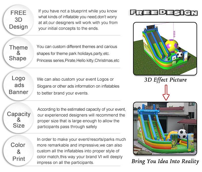 free design bouncer castle