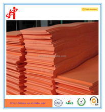 Colorful EVA foam sheet for shoes making solid color