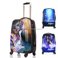 Travel Plastic Trolley Hard Case For