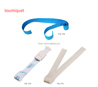 customized reusable military emergency surgical soft plastic buckle elastic medical tourniquet