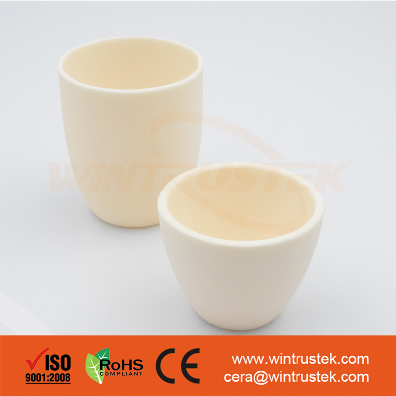 Alumina / AL2O3 / Smelting Ceramic Crucible Pot / Stock Available