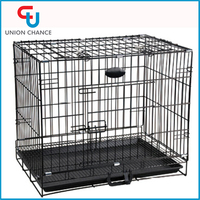 Foldable Metal Dog Cage High Quality Dog Kennel Wholesale Wire Fence Dog Cage