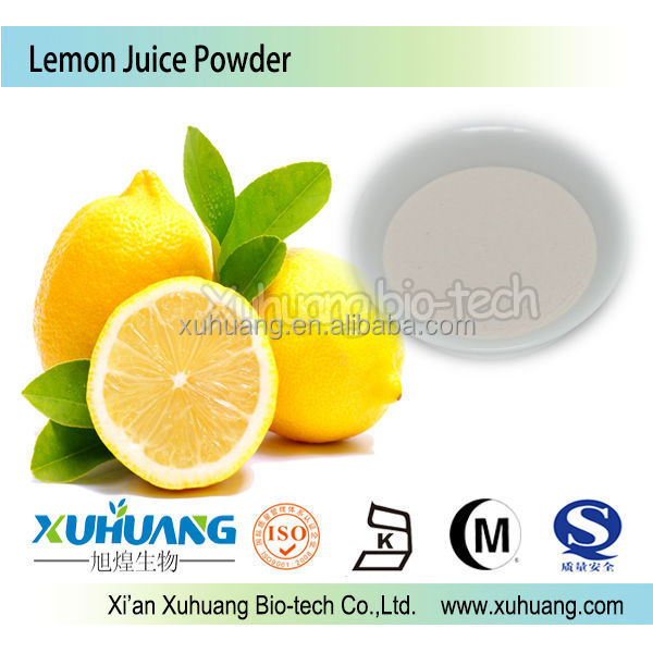 Organic Lemon Juice Concentrate Powder