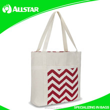 ASD2015A1023 cheap 100% Cotton Printed Shopper Bag