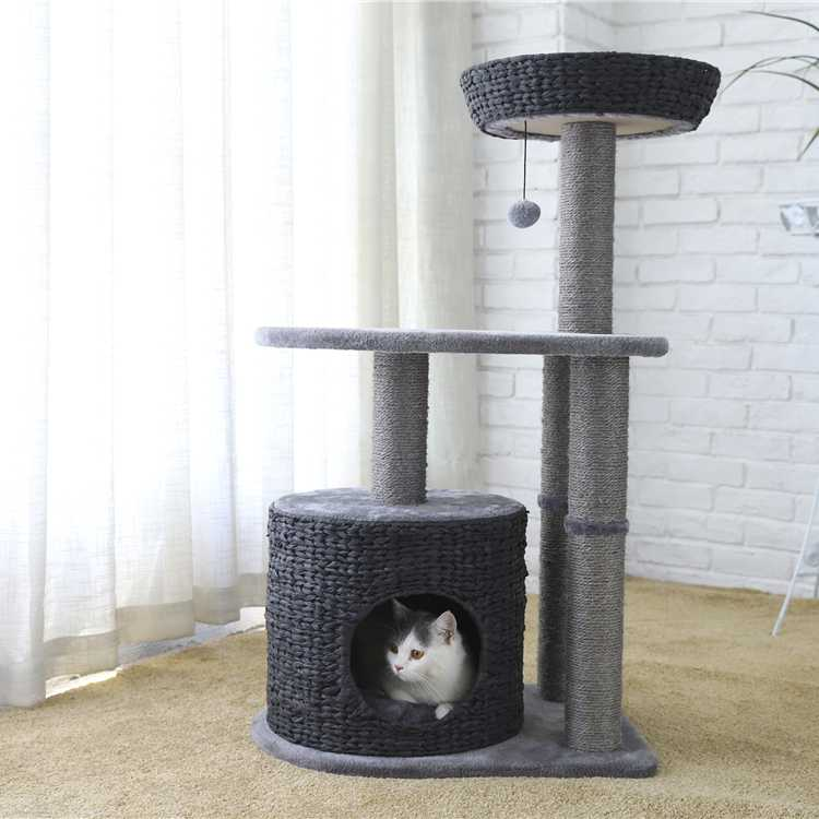Pet star All Kinds Of Huge Luxury Climbing Gyms Plush Wooden Cat Tree