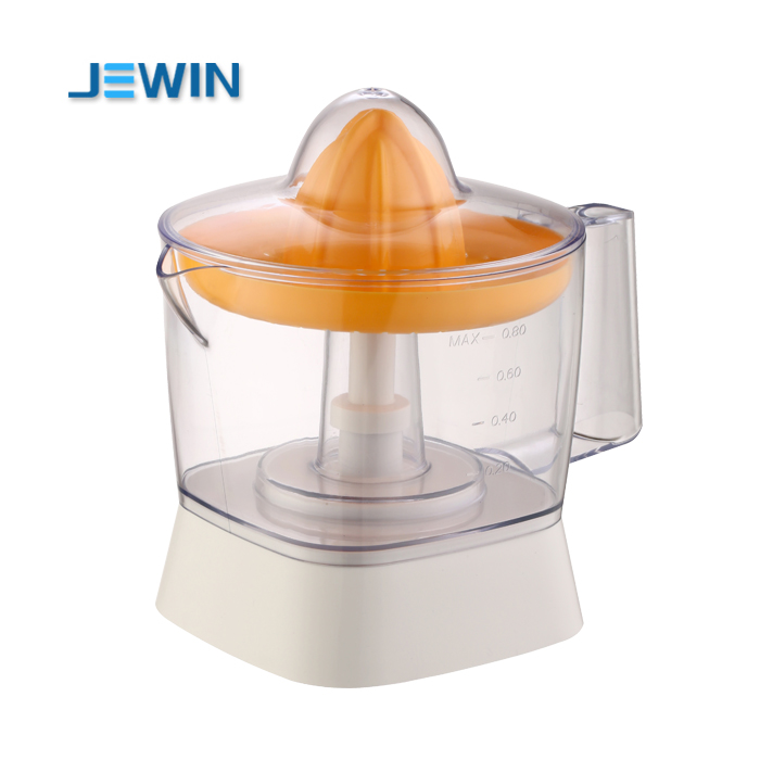 Automatic mini electric fruit citrus juicer with two-direction twist