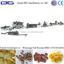 Automatc Corn flakes/Corn snack machines factory manufacturing project